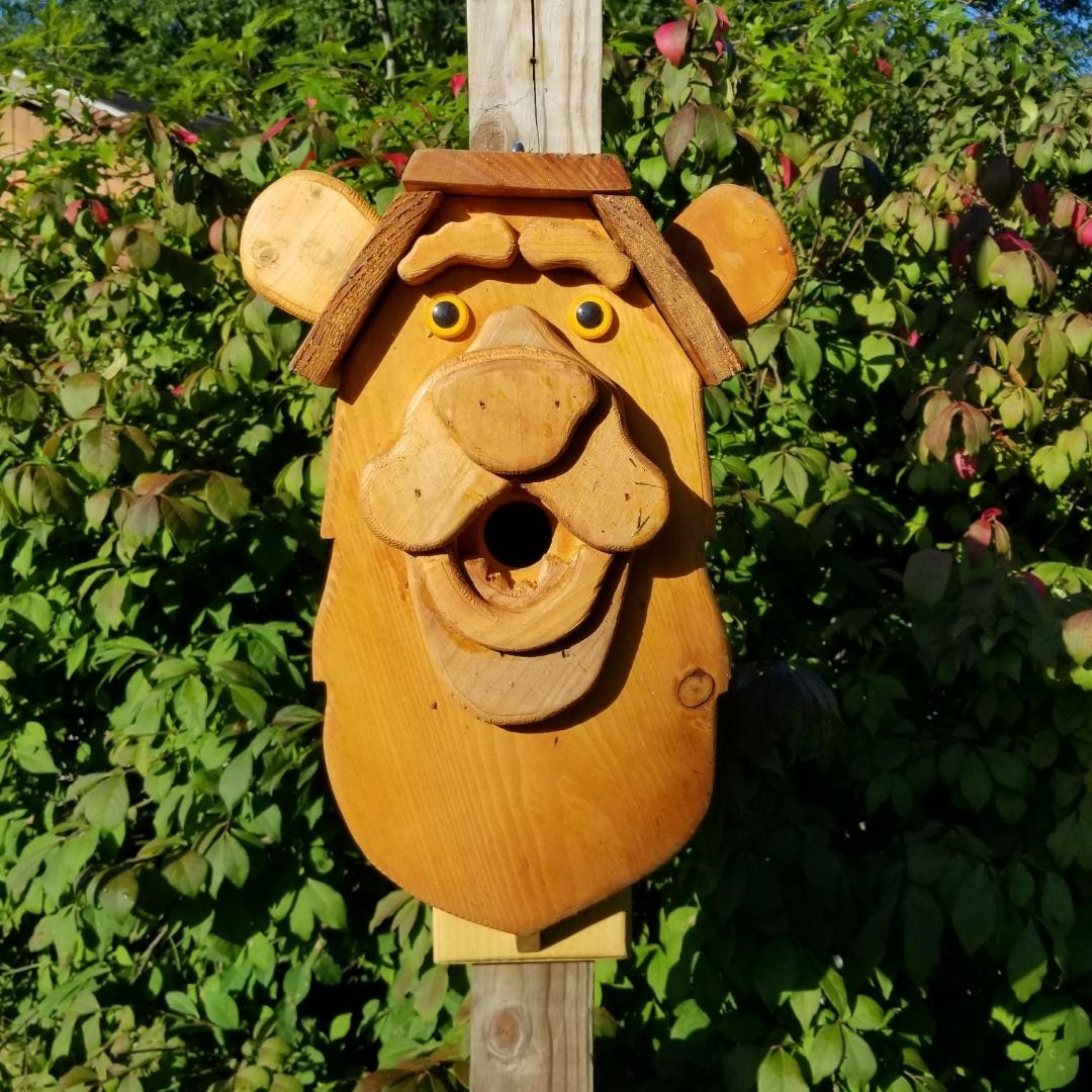 Bear #2 Birdhouse