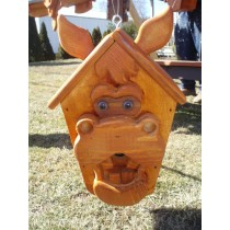 Stained Horse Birdhouse