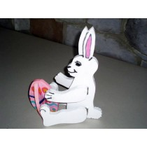 Small 3D Easter Bunny & Egg